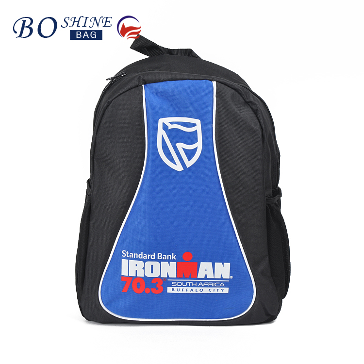 New Design 600D Male Relaxation Hiking Backpack Relaxation Printing School Bags Promotional Relaxation Hiking Backpack