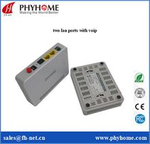 GPON ONT 1GE+2POTS+WIFI/GPON EPON GEPON Supported VOIP/FTTH Solution Network