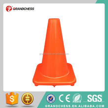 12 Inch flexible safety traffic cone Road Safety Fluorescent Orange PVC Traffic Cone