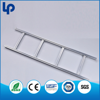 Best Selling Step Aluminum Cable Ladder , Epoxy Painting Cable Ladder