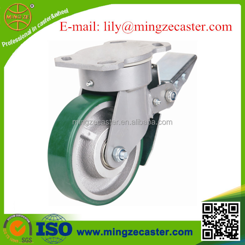 Adjustable Heavy Duty Polyurethane Caster <strong>wheel</strong>