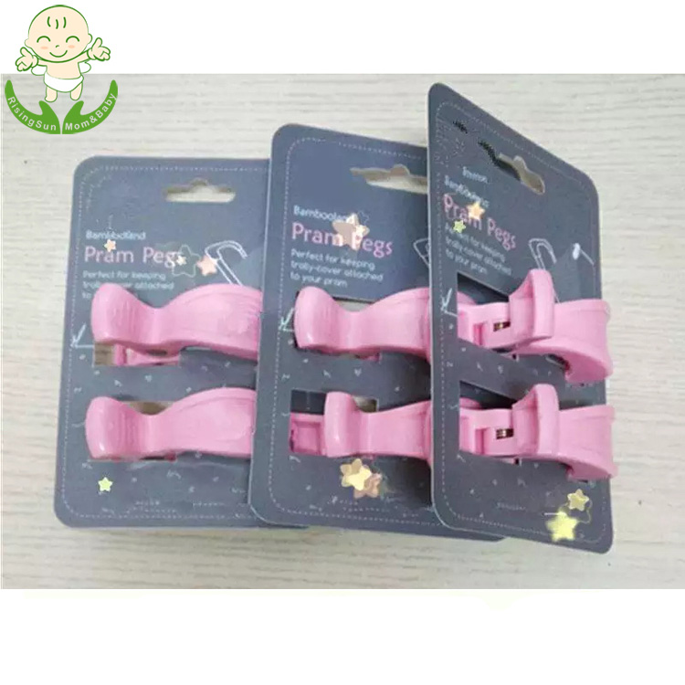 Factory Supplies Stroller Pegs, Car Seat Cover Clip, Pram Toy Holder, Blanket Clamp