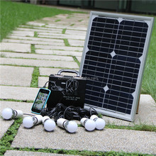 off grid high efficiency power generater 10W mini solar home system