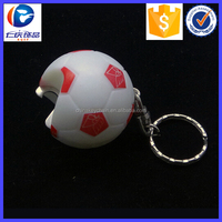 Promotion Gifts Led Football Bottle Opener Key Holder