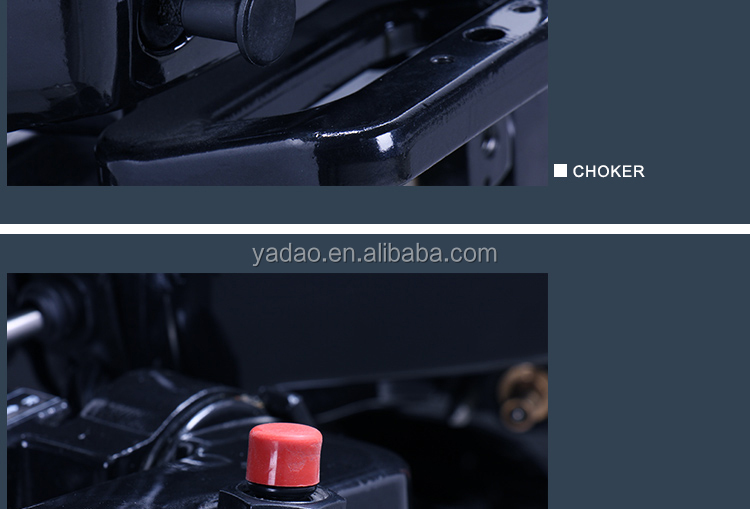 Chinese 15HP 2-stroke engine compatible for Yamaha E15D inflatable boat outboard engine / / outboard motor