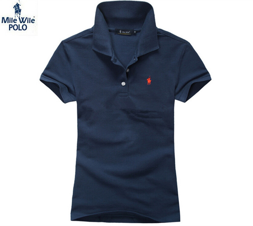 2015 Summer Style Horse Log Womens Polo Shirt  Short Sleeves Women Polo Hombre Ladies Shirt Fashion Polo Feminina Shirt Polos