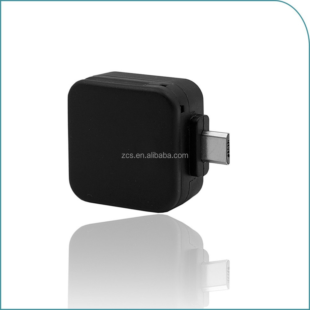 Small Usb-otg Interface Mobile Magnetic Card Reader With ...