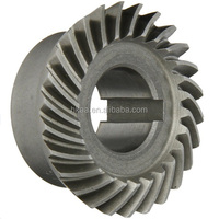 custom steel spiral bevel gear bevel pinion gear vendor china OEM factory