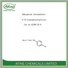 High quality Dabigatran Intermediate N-(4-Cyanophenyl)glycine Cas no.42288-26-6