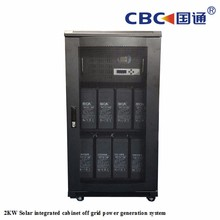 2KW solar integrated cabinet off grid power generation system