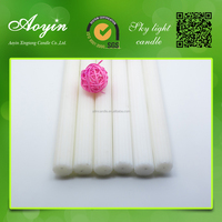Top quality Aoyin white candle for church/christmas/home decoration