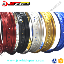 "17"" Xmoto Sport motorcycle Aluminum Alloy colored 36 holes wheel rims"