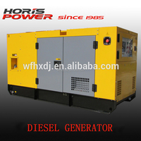 Factory price diesel generator with silenced box