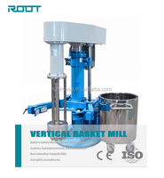 ROOT vetical type basket mill equipment for paint, pigment, printing ink production
