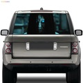 new launch custom adhesive truck high beam sticker waterproof car rear windshield decal sticker