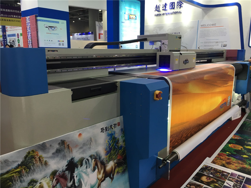 UV hybrid printer pvc uv directly printing machine price lowest with high quality