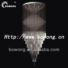 First-class Unique Design Large Crystal Hanging Light/Chandelier/Pendant Lamp