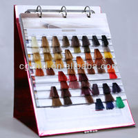professional hair color chart supplier