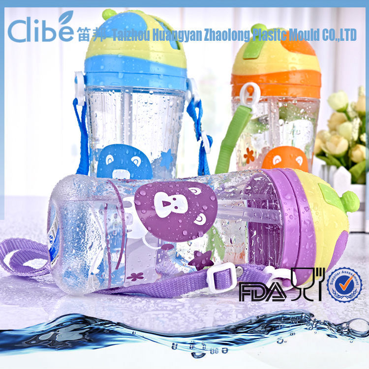 Light Foldable Bpa free sports Wholesale clear plastic soda bottles