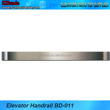 Elevator parts stainless steel tubular handrail for lift