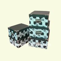 2013 new design decorative nesting storage boxes