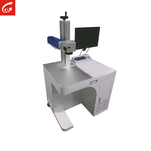 Desktop Mini Table Metal 10/20/30/50W Laser Printer Fiber Laser Marker Marking Machine Price