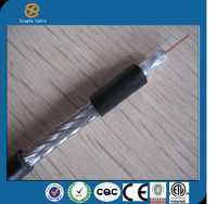 75 ohm RG6 100m coiled coaxial cable for CATV