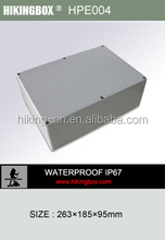 Polycarbonate control box with clear cover/Electrical junction box HPE004