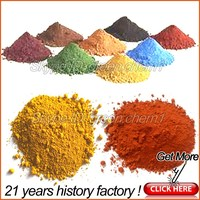 Hot sale industrial grade iron oxide yellow 313 and red 130 for traffic paints/colorant dye/paver bricks/mixed asphalt