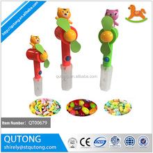 china candy toy factory custom bear fan toy candy , toy with candy in bulk , toy candy