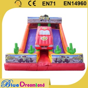 Hot sale dry jumbo commercial inflatable slide wholesaler