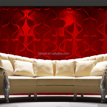 Waterproof boards interior home decoration wallpapers 3D textured wallpaper