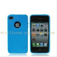Silicone phone case Skin cover For iPhone 4G/4GS