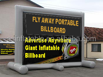 big outdoor inflatable billboards advertising inflatable screens