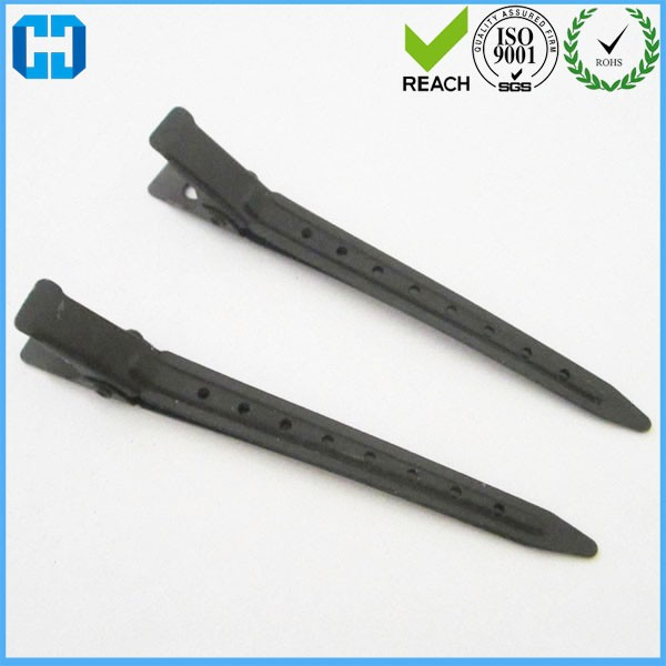 Black Hair Clips Single Prong Alligator Clips Manufacturer In China