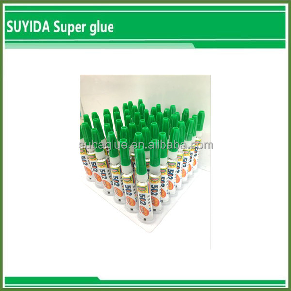 environmental Low odor 4g super 5000 instant super glue factory yiwu
