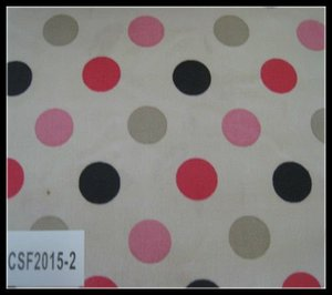satin oxford printed fabric with PVC/PE/TPE coating