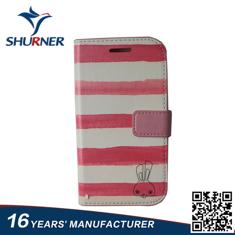 cute Flip pu Leather Cover Cases for Samsung Galaxy Grand y s5360 Fully Protective Phone Bag