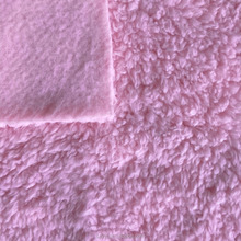 China manufacturer produced 100% polyester comfortable mink back brush sherpa fleece fabric used in garment and home textile