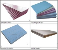 Extruded polystyrene insulation foam board XPS boards