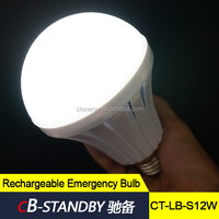 5 hours lasting rechargeable led light bulb lighting bulb led bulb price from CT-ENERGY
