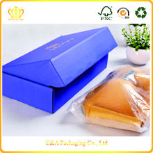 Hot sell custom brand colored shipping boxes, shipping mailing boxes