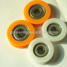 sliding doors timing belt pulleys small tensioner pulley wheels with bearings