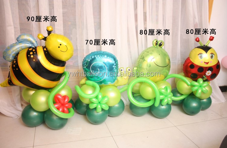 2016 New Design Smiling Frog balloon Helium Kids Gifts Happy Birthday Decoration Balloon Funny Toys