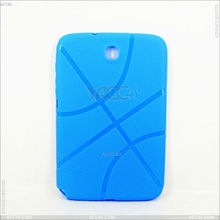 Basketball Grain TPU Custom Phone Case for Samsung Galaxy Note 8.0 N5100 P-SAMNOTE80TPU005