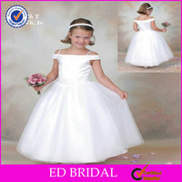 2014 High End Off Shoulder White Ball Gown Buy Kid Princess Wedding Dresses China