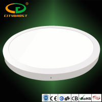 Wall Or Ceiling Surface Mounted White Frame 3200LM 3 Years' Warranty CE,ROHS LED Ceiling Round Panel Light 40W