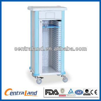 Medical Single record trolley