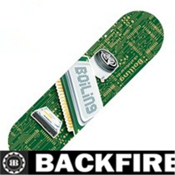 Backfire skateboard box truck flooring material