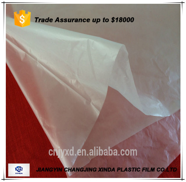 Hot selling pe builders film/protecting sheet roll